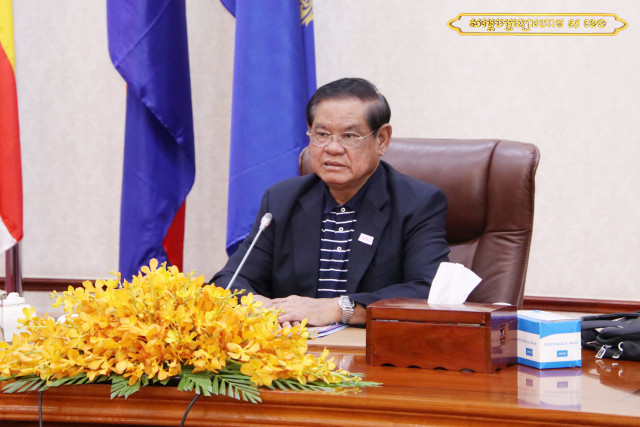 Sar Kheng Underwent Surgery in France, the Ministry's Spokesman Says