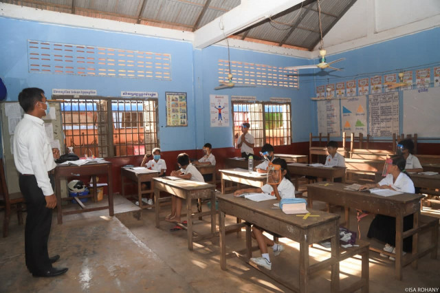 School Reopening Postponed One Week in Parts of Siem Reap Province due to COVID-19