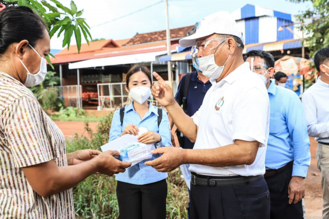 Chinese Traditional-Medicine Pills Distributed in Siem Reap City as part of the Country's COVID-19 Campaign
