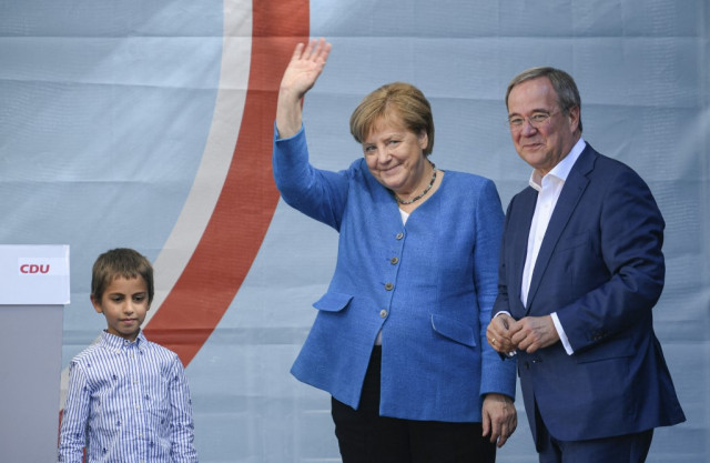 Merkel legacy in balance as party risks election defeat