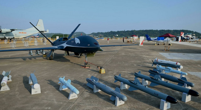China shows off new drones and jets at Zhuhai airshow