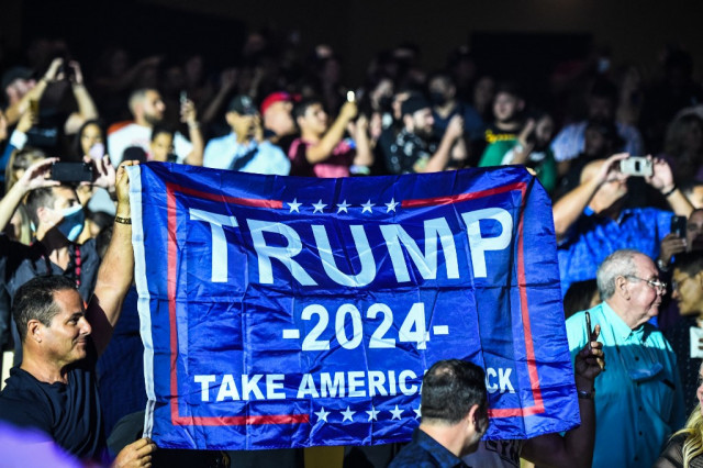 Fears of 'election subversion' as Trump flirts with 2024 White House bid