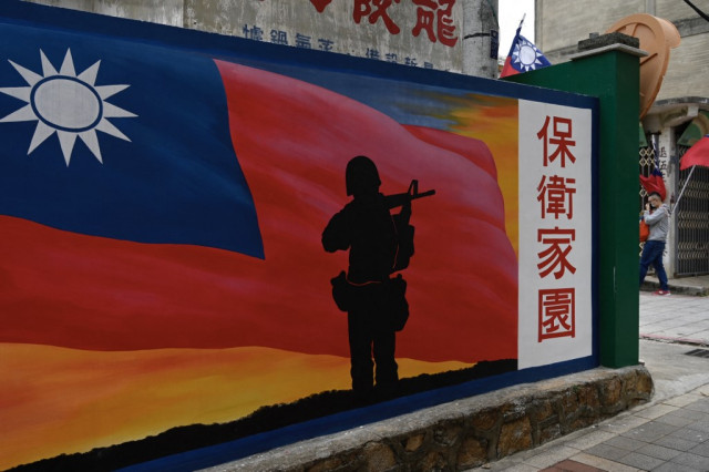 Taiwan minister warns China military tensions highest in decades