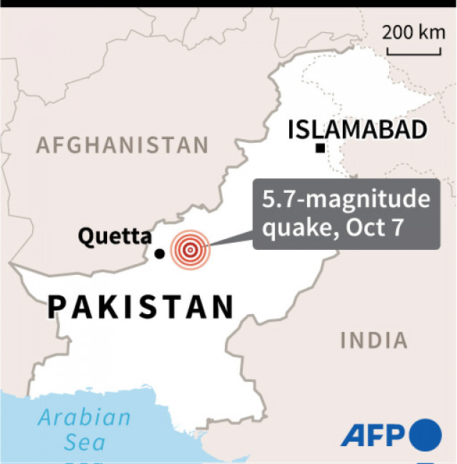 At least 20 killed as quake rattles southern Pakistan