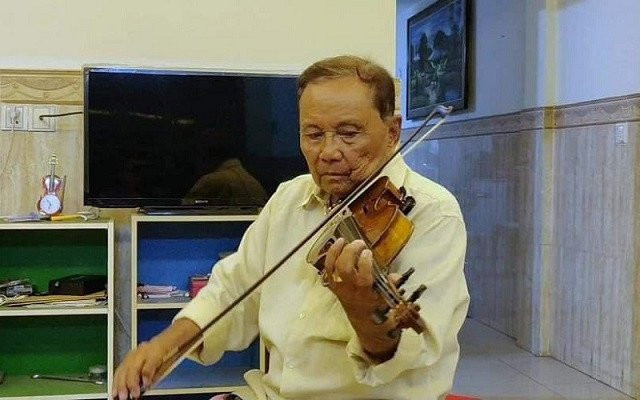Famed Cambodian Musician from the 1960s He Chun Sek Passes Away due to COVID-19