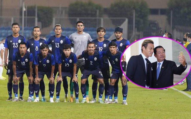 PM Cheers Cambodia Football Success