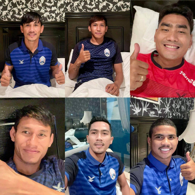 Six Cambodian Footballers Test Positive for COVID-19