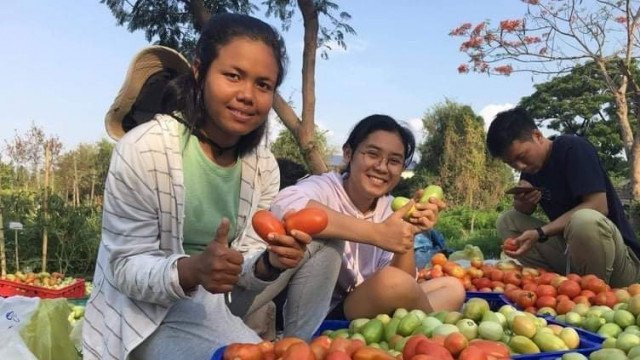 Agriculture Students Applying Internship Skills to Cambodia's Farms