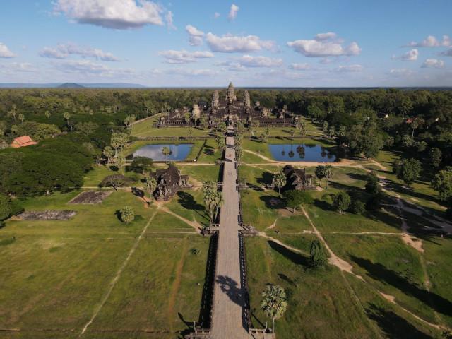 Everyone Tells Everything to Angkor