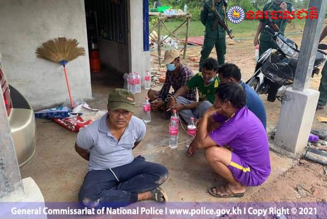 Cambodia arrests 6 drug criminals, seizing over 200 kg of illicit drug