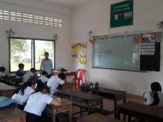 Pailin school bans smartphones to improve student focus