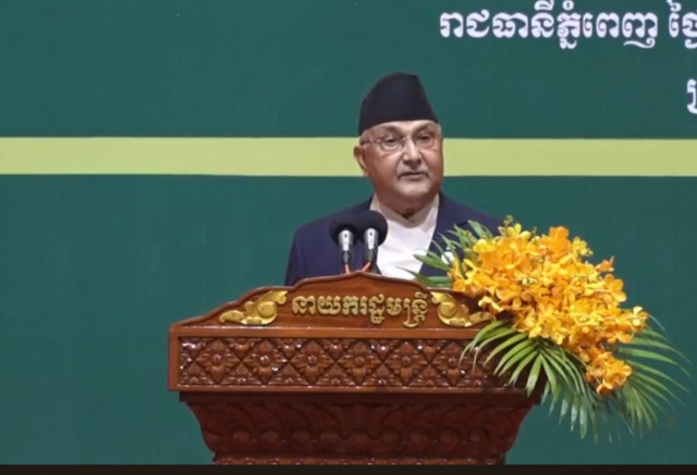 Nepal premier invites Cambodians to Buddha's birthplace