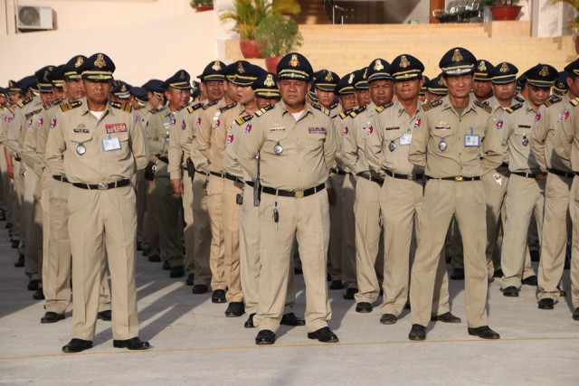 Phnom Penh police to be subject to drug tests