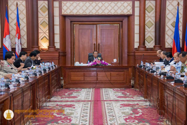 The Cambodian government discusses the public-order draft law with legal experts