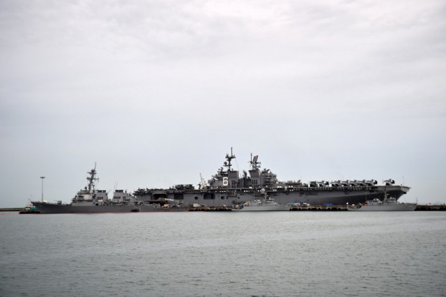 White House wanted USS McCain 'hidden' from Trump: reports