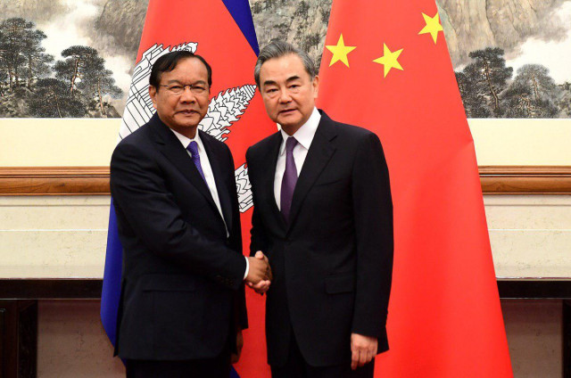 China pledges continued support for Cambodia