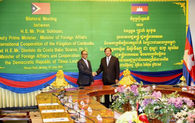 Cambodian scholarships for Timor-Leste students will begin in October