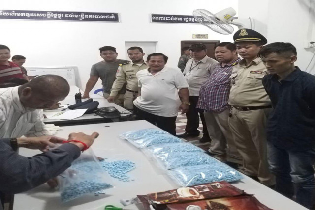 A traffic accident leads to the police seizing 6 kilos of drug