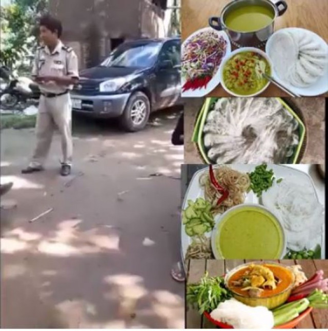 Local police chief fired for breaking up a noodle party in Cambodia