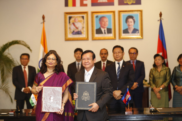 India to provide nearly $900,000 for quick-impact projects in Cambodia