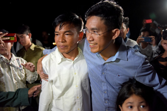 Cambodian journalists call for an end to 'espionage' charges against colleagues