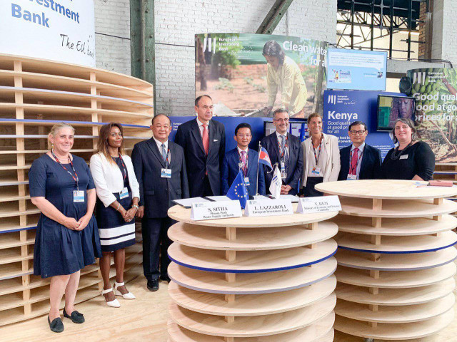 EIB approves US$100 million loan for Cambodian water supply expansion
