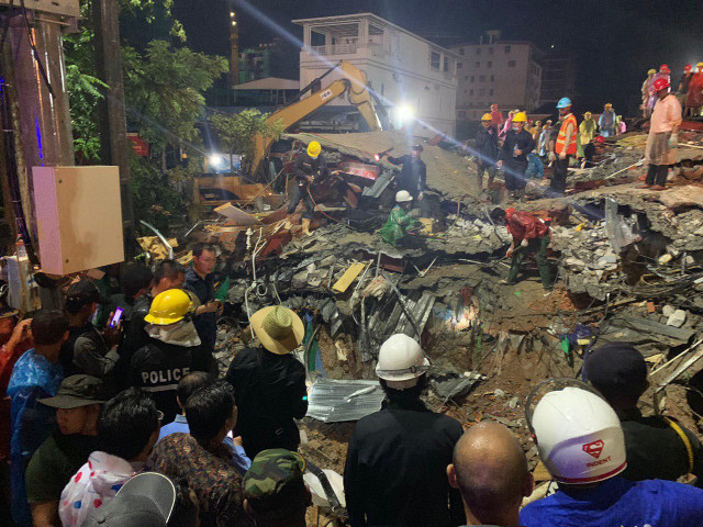 Death toll hits 17 in Sihanoukville building collapse