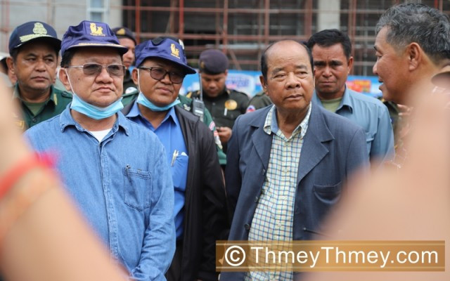 Hun Sen accepts Sihanoukville governor's resignation