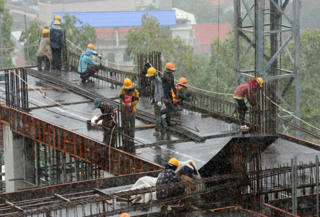 Collapsed dreams: Cambodia construction workers risk lives for 'riches'