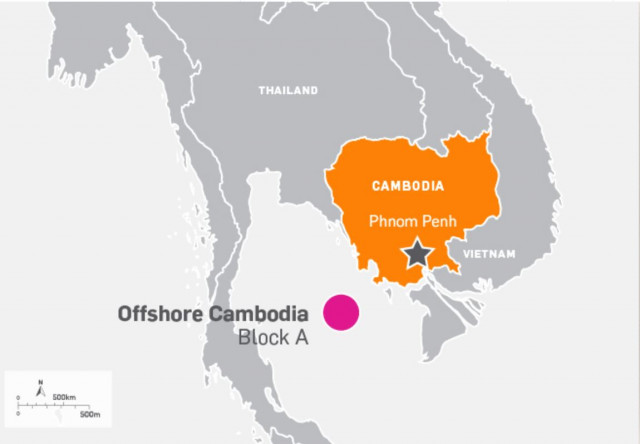 KrisEnergy conducts 3D survey offshore Cambodia
