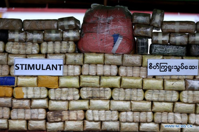Myanmar seizes stimulant drugs in two states