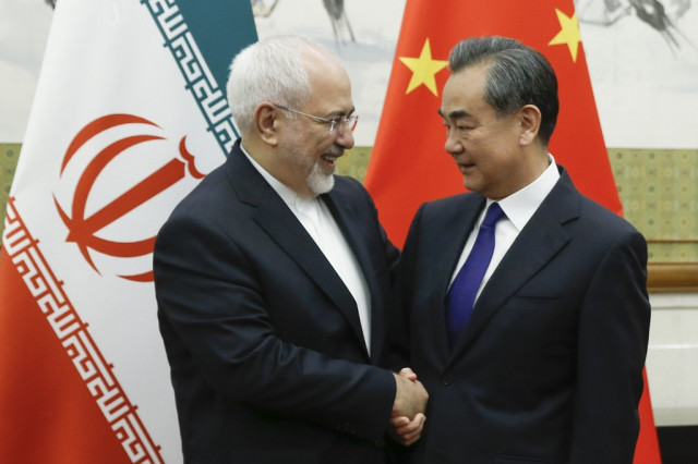 China blames US 'bullying' for Iran nuclear crisis