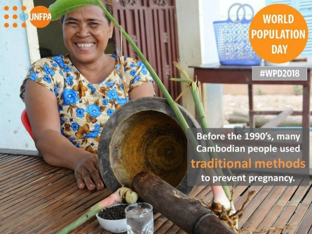 The UN Population Fund celebrates 25 years of activities in Cambodia