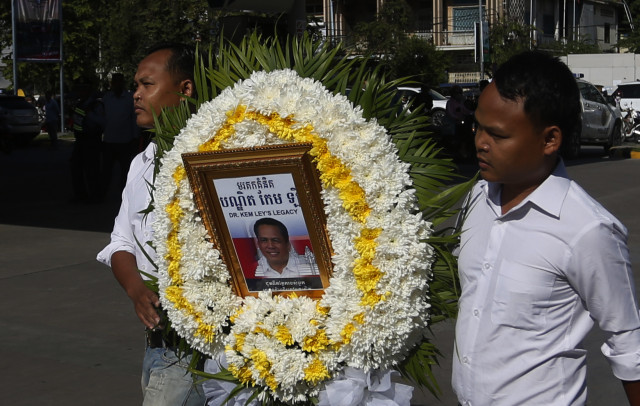NGOs urge the authorities to let Cambodians mourn Kem Ley's death, to investigate his Killing