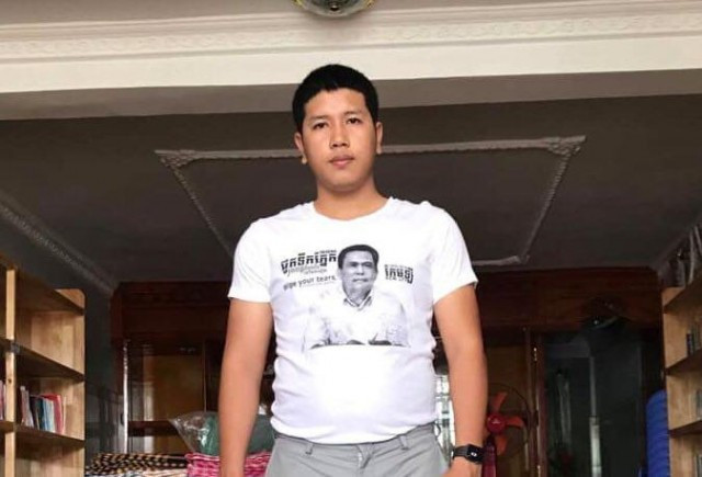 Activist charged with incitement over Kem Ley T-shirt