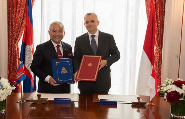 Cambodia forges diplomatic relations with Monaco