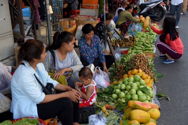 UN says Cambodia's undernourishment rate declines