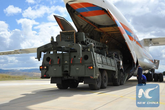 U.S. not to sell F-35 jets to Turkey as Russian S-400 arrives