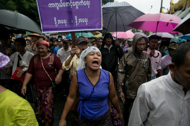 Myanmar protests demand military loosen grip on politics