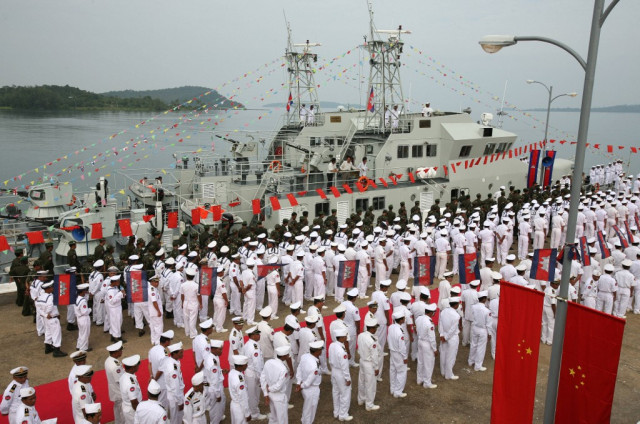 China Says No Plan for a Chinese Naval Base in Cambodia