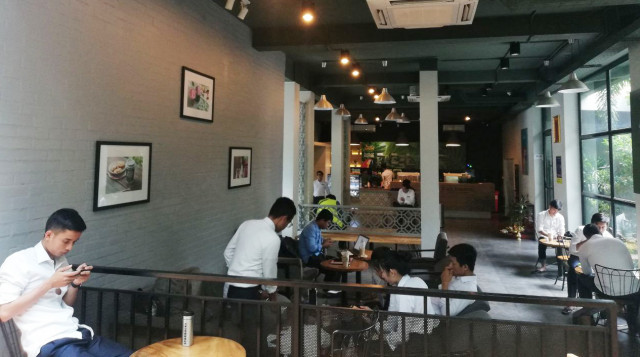 Foreign brands dominate the coffee market in Cambodia