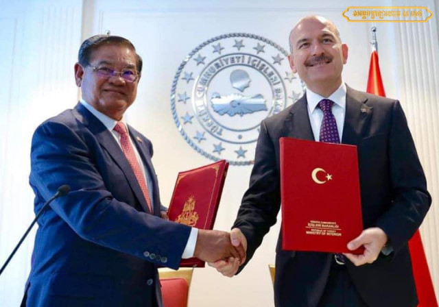Turkey and Cambodia strengthen cooperation to fight terrorism
