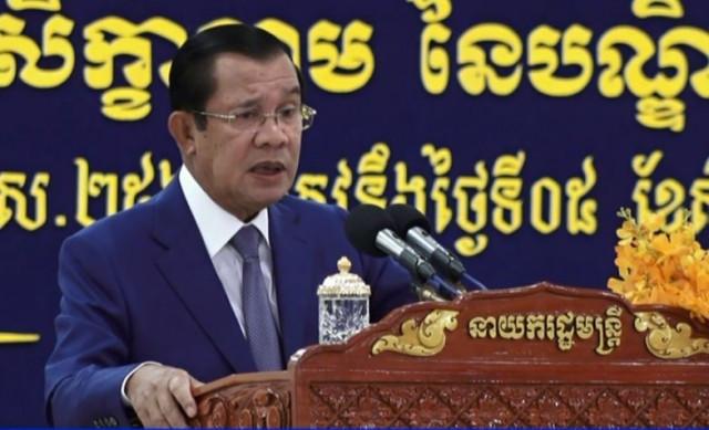 Hun Sen urges police to be aware of terrorist threats