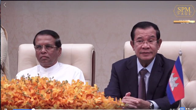 Cambodia, Sri Lanka inked two agreements to strengthen ties