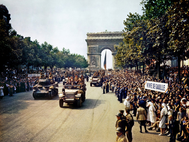 75 years ago, Paris freed from Nazi occupation