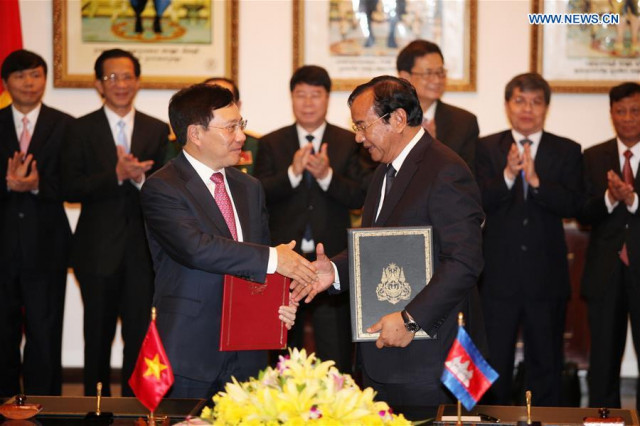 Vietnamese deputy PM to pay working visit to Cambodia next week