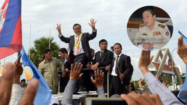 Police vow to arrest opposition members if they return