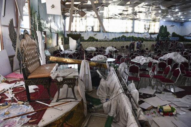 Joy turns to horror as bomber kills 63 at Kabul wedding