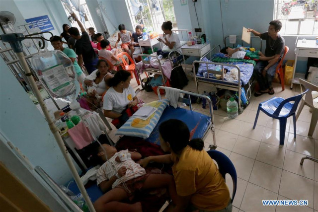 Dengue cases in Philippines surge to more than 188,000, with over 800 deaths
