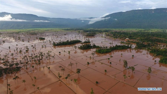 Floods wreak havoc in northern Laos
